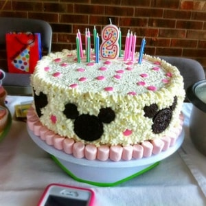 Astounding Great Diy Minnie Mouse Cake Funny Birthday Cards Online Alyptdamsfinfo